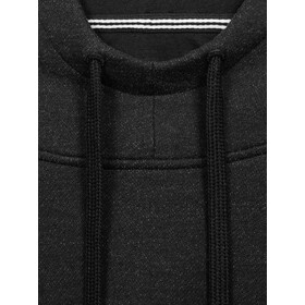 super.natural Knit Pull à capuche Homme, jet black
